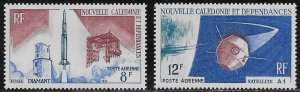 New Caledonia Scott #'s C44 - C45 MNH