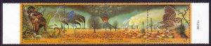 1993 UN Vienna 156-59strip Fauna 7,00 €