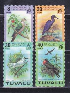 Tuvalu 73-76 Set MNH Birds (A)