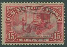 USA SC# Q7 Automobile Service 15c, Parcel Post, canceled