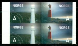 Norway #1443a  Mint VF NH  CV $8.00   Booklet Pane