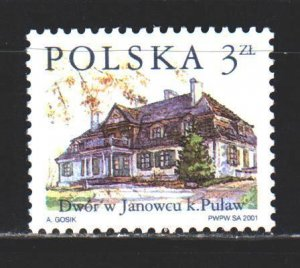 Poland. 2001. 3882 from the series. Polish architecture. MNH.