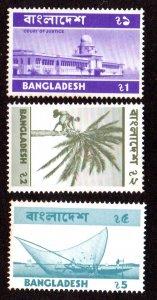 BANGLADESH 82-4 MNH SCV $11.50 BIN $6.90 COURT, TREE, FISHING