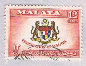 Malaya Federation 87 Used Federation COA (BP22416)