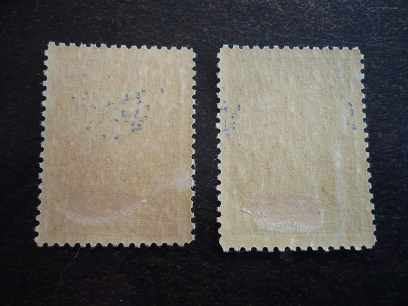 Stamps - Cuba - Scott#441-442  - Mint Hinged Set of 2 Stamps