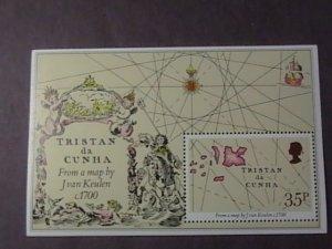 TRISTAN da CUNHA # 293-MINT/NEVER HINGED--SOUVENIR-SHEET--QEII---1981