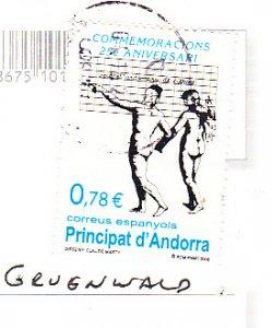 Andorra - Spanish  #340 on Postcard
