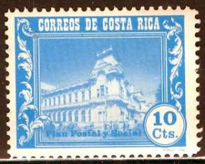 Costa Rica; 1967: Sc. # RA32: **/MNH Cpl. Set