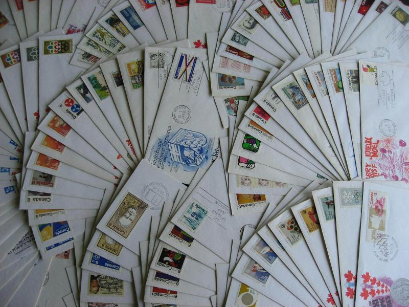 Canada Kingswood cachet FDC first day covers 110 different? not addressed