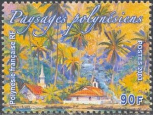 French Polynesia Scott #'s 864 MNH