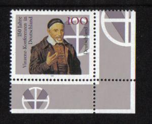 Germany 1995 MNH  Vincent conferences