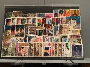 Liechtenstein stamps   lot on stock card   R23936
