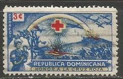 Dominican Republic 410 VFU RED CROSS NURSE X813-4