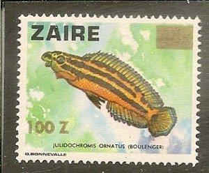 Zaire   Scott 1311   Fish   Used