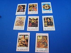ST. VINCENT  -  SCOTT # 1288-1295   MNH   (gg)