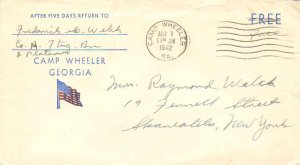 United States Georgia Camp Wheeler 1942 machine  1941-1946  Camp Wheeler Geor...