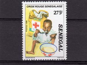 Senegal 1996 Sc#1220 RED CROSS OF SENEGAL Set (1) perforated MNH VF