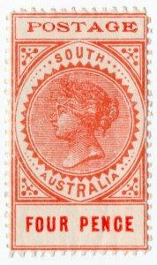 (I.B) Australia Postal : South Australia 4d (SG 281)