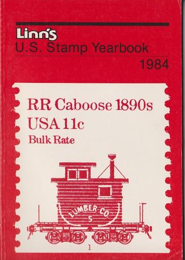 Linn's U.S. Stamp Yearbook for 1984