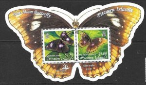 PITCAIRN ISLANDS SGMS687 2005 BUTTERFLY FINE USED