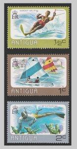 ANTIGUA ISLAND STAMP 1976 SCOTT # 438 - 40. UNUSED