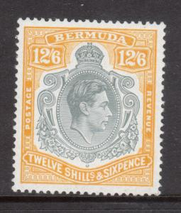 Bermuda #127b (SG #120d) Extra Fine Never Hinged Perf 14 **With Certificate**
