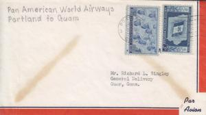 1949, 1st Flt, F14-66a, Portland, OR to Guam, Guam, See Remark (21237)