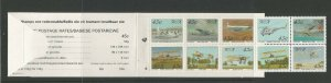 South Africa 1993 Aviation Booklet of 10 With Plate Number 8 UMM