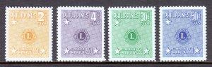 Philippines - Scott #545-546, C71-C72 - MH - SCV $5.75