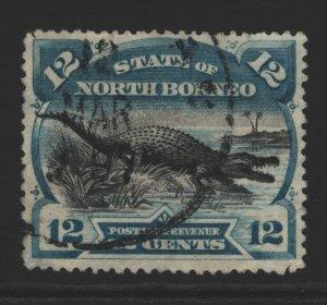 North Borneo Sc#65 Used