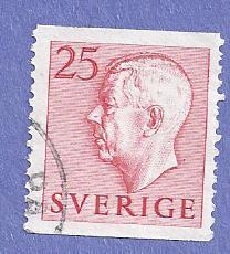 Sweden Scott #422 Gustaf VI Adolf, CV $.20, used