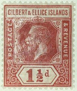 AlexStamps GILBERT & ELLICE  #29 VF Mint