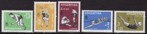 Argentina #B19-21, CB15-16 F-VF Mint NH **