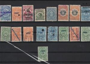 chile revenue stamps ref r11703