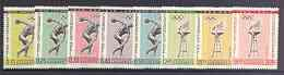 Paraguay 1962 Previous Olympic Games (1st issue) perf set...