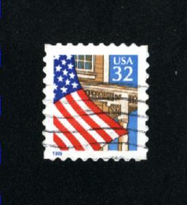 USA # 2897  2  used 1995-97 PD .08