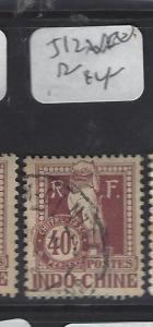 FRENCH INDOCHINA (P0401B)  POSTAGE DUE SC J12     VFU