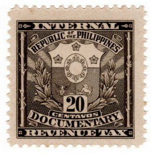 (I.B) Philippines Revenue : Documentary 20c