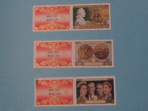 Cook Islands - 284-6, MNH Set. Visit of Royal Family - SCV - $6.55
