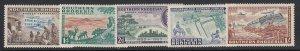 Southern Rhodesia Sc 74-78 (SG 71-75), MLH