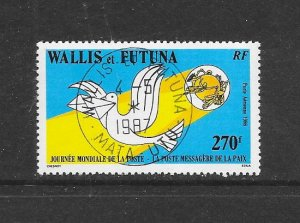 WALLIS & FUTUNA #C150  WORLD POST DAY   CANCELLED