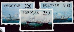 Faroe Islands SC#90-92 Mint VF SCV$3.80...Faroe Islands are Magical!