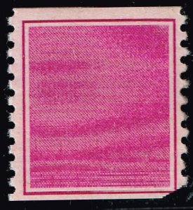 US STAMP  PURPLE TEST PRINT STAMP