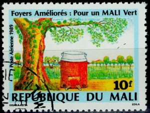 Mali; 1989: Sc. # C545: O/Used CTO Single Stamp