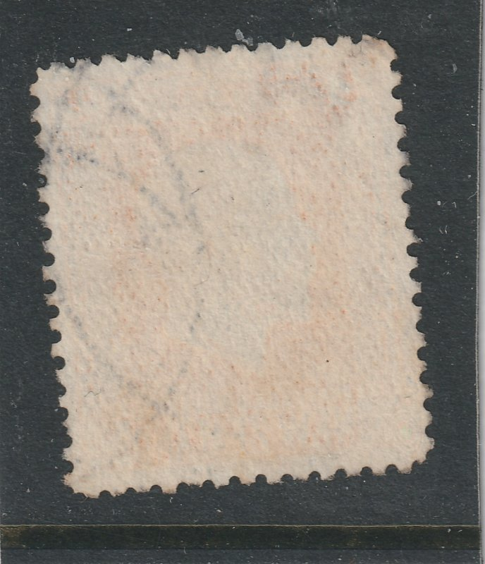 New Zealand a used KGV 2d yellow recess perf 14