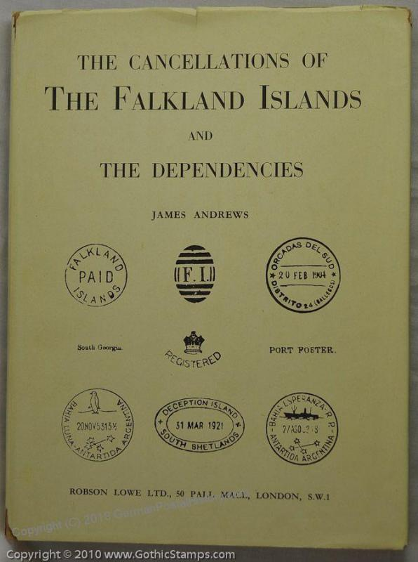 Cancellations of the Falkland Islands Andrews 45338