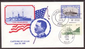 Guam   Guard Mail  1st Day Cover (1978)