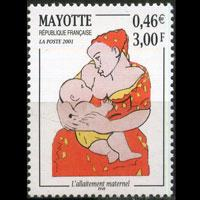MAYOTTE 2001 - Scott# 146 Breastfeeding Set of 1 NH