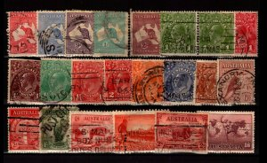 Australia 22 Used, with faults - C2784