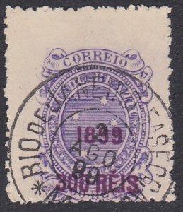 Brazil Sc #153 Used